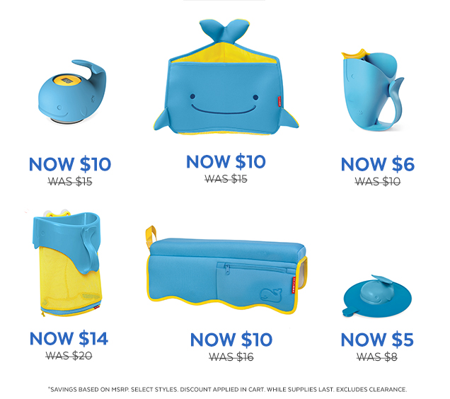 Now $10   Was $15   Now $10   Was $15   Now $6   Was $10   Now $14   Was $20   Now $10   Was $16   Now $5   Was $8   *Savings based on MSRP. Select styles. Discount applied in cart. While supplies last. Excludes clearance