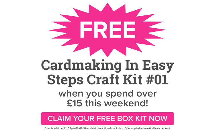 FREE Craft Box Kit This Weekend!