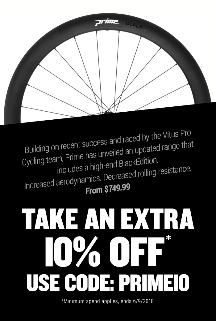 It's Prime Time: Brand New Wheelsets!