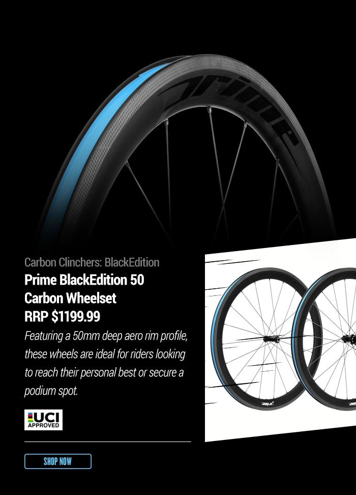 Carbon Clinchers: BlackEdition