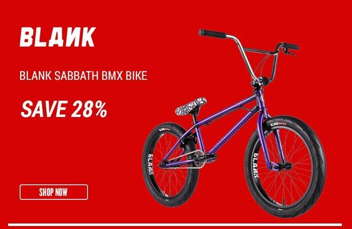 Blank Sabbath BMX Bike