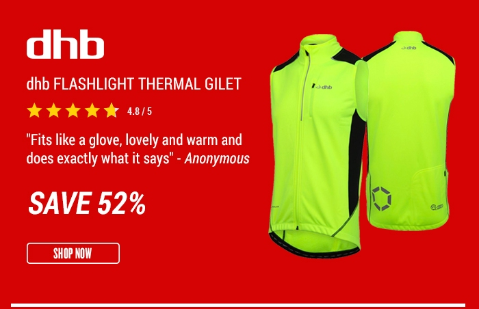 dhb Flashlight Thermal Gilet