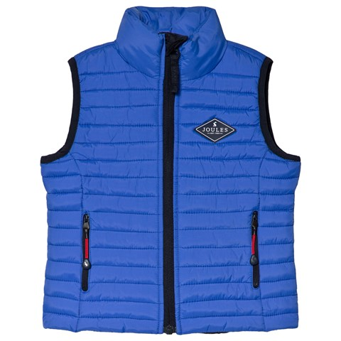 Joules Blue Crofton Padded Gilet