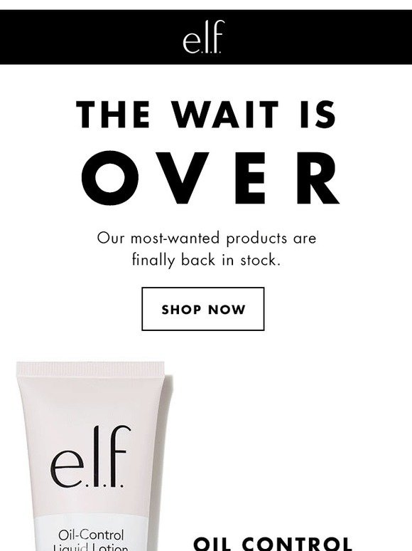 046bb77b78 e.l.f. cosmetics: Our most-wanted is finally back! | Milled