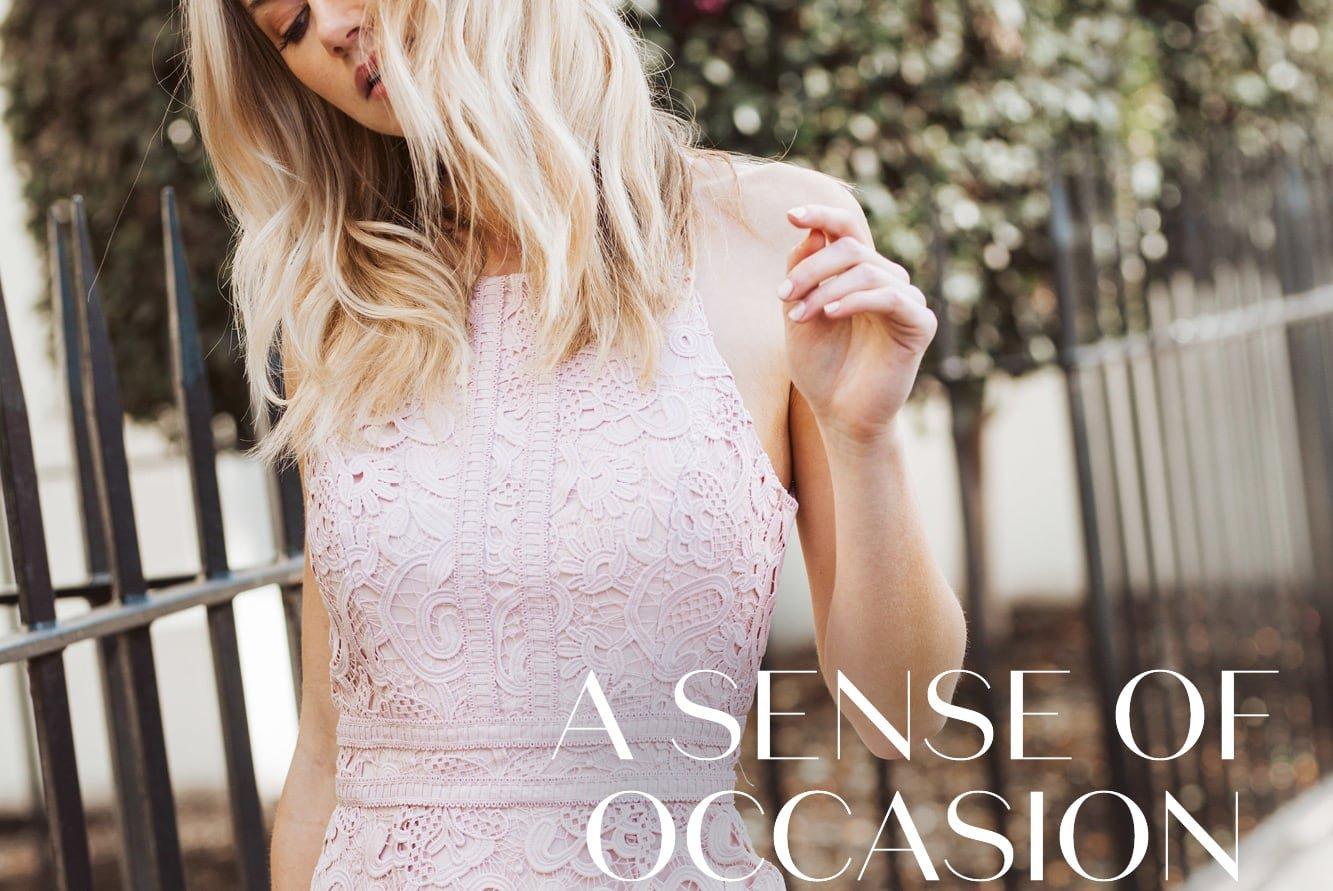 A Sense of Occasion