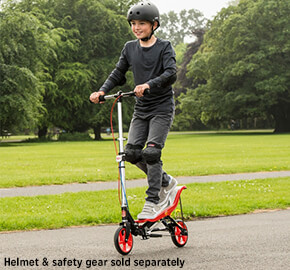 Space Scooter X580 Black/Red