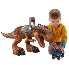 Imaginext Jurassic World Jurassic Rex & Playset image