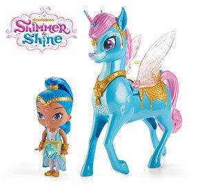 Shimmer and Shine - Shine & Magical Flying Zahracorn