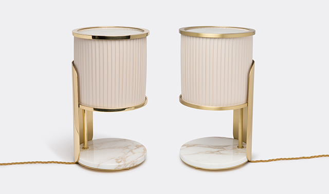'LT2 Achille' table lamp  by Marta Sala ditions