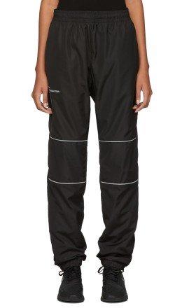 Scorpion for SSENSE - SSENSE Exclusive Black Nylon 3M Track Pants