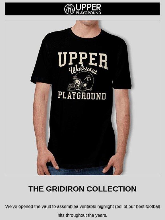 Upper Playground: Football Collection + 20% Off Virgo Design