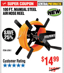 Harbor Freight Tools Discover Our New Diablo Hose Reels Built