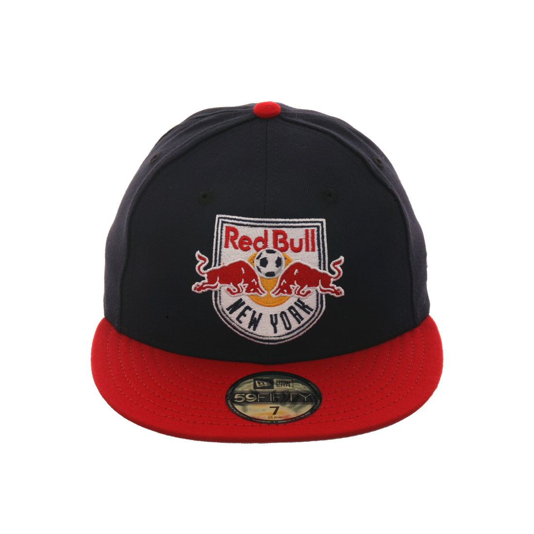 Exclusive New Era 59Fifty New York Red Bulls Hat - 2T Navy c4855ca0b107
