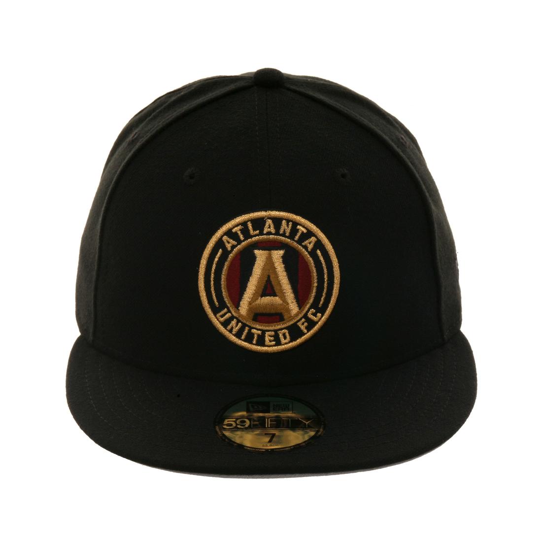 Exclusive New Era 59Fifty Atlanta United FC Hat - Black  d78526bbd