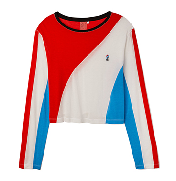 P.E. Nation The Spiral Long Sleeve Top $120