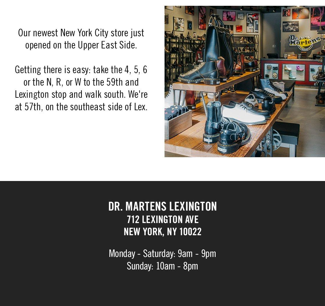 Dr. Martens: Our Lexington Ave. store