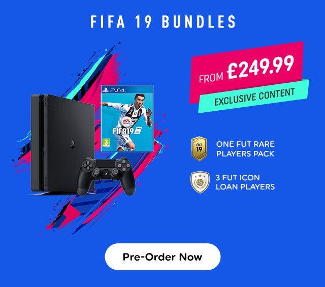 FIFA 19 PS4 Consoles