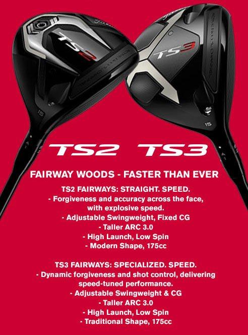 Golf Discount  com: Pre-order NEW Titleist TS2 & TS3 Drivers