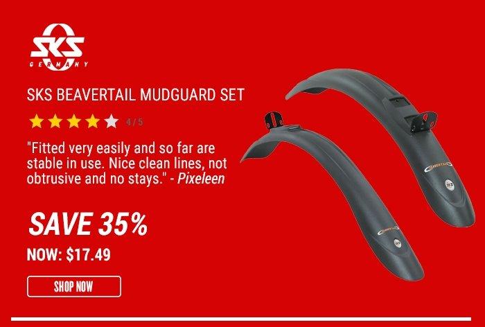 SKS Beavertail Mudguard Set