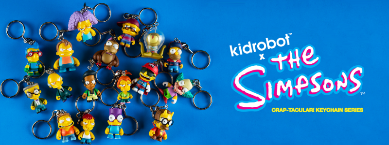 Kidrobot The Simpsons Crap-Tacular Mini Figure series