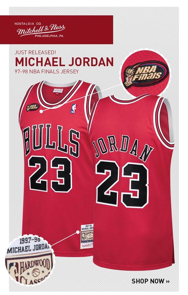 hot sale online 72c7c 2a2ff The NBA Store: JUST RELEASED: 1997-98 Michael Jordan Finals ...