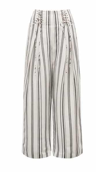 Emery Co-Ord Corset Linen Blend Pants