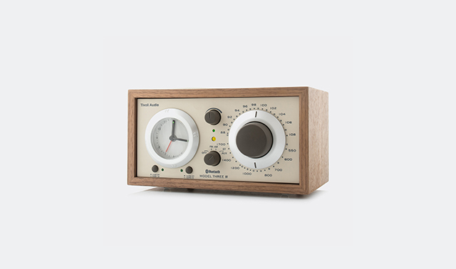 'Model Three' beige by Tivoli Audio