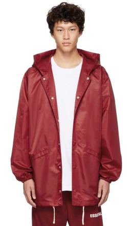 Essentials - Red Coaches Jacket