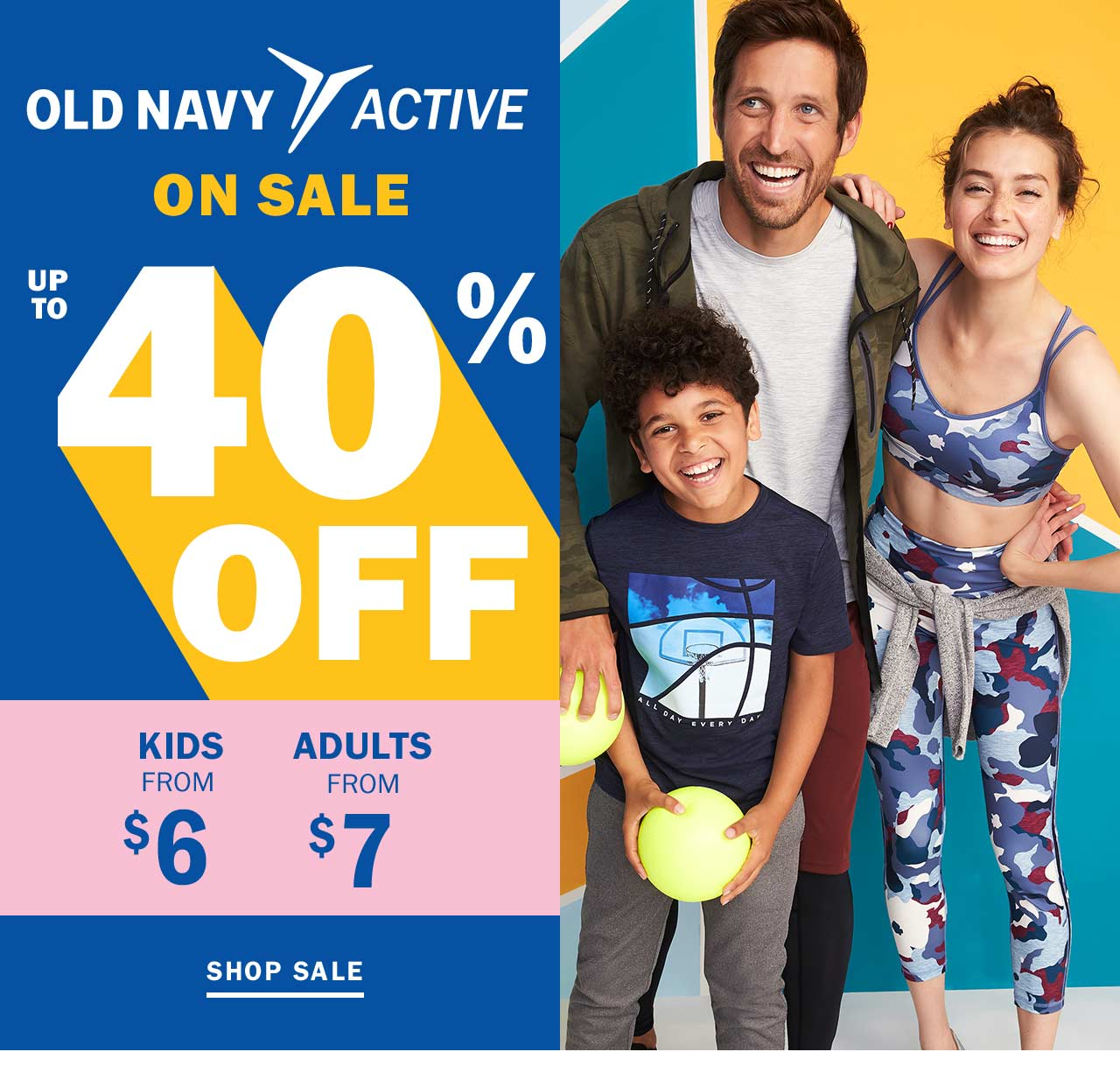 Old Navy: JUMP ON IT: workout gear from $7 | Milled