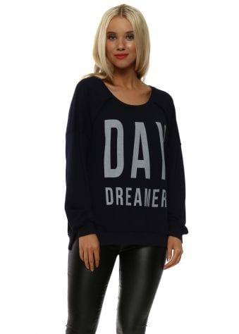Navy Day Dreamer Sweater