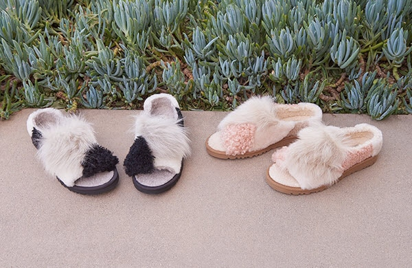 7e3b2262902 UGG Australia: New fluffy slides | Milled