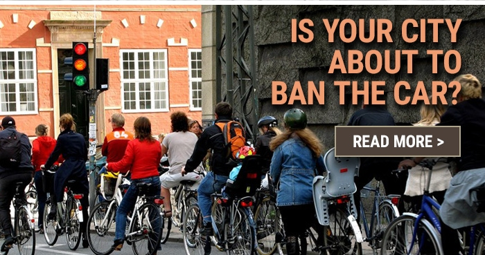 Is your city about to ban the car?