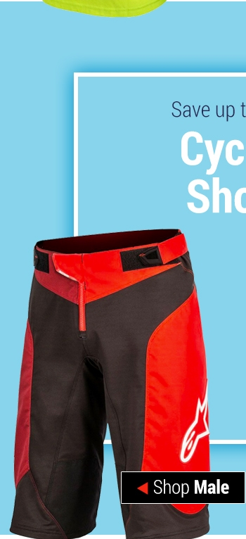 Save up to 50% on Cycling Shorts - Shop Male