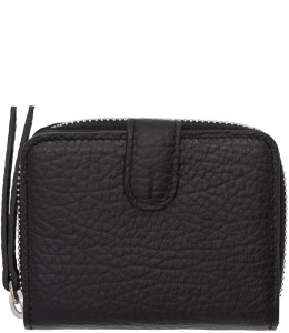 Maison Margiela - Black Small Grained Wallet