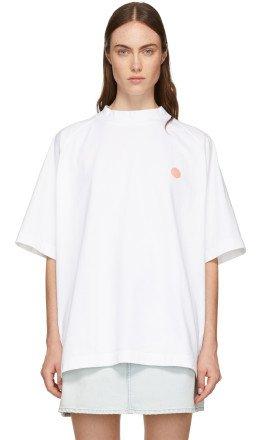 Acne Studios - White Bl Konst Bassetty Uni T-Shirt