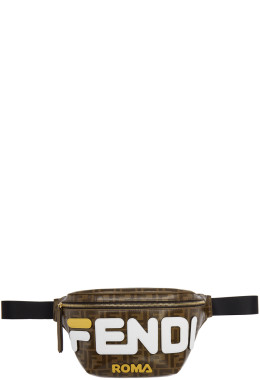 Fendi - Brown 'Forever Fendi' Mania Belt Bag