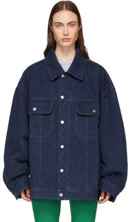 Acne Studios - Blue Oversized Denim Jacket