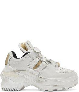 Maison Margiela - White Chunky Sneakers