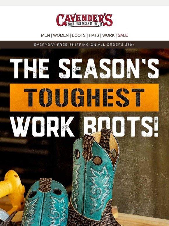 a7d4c556da1 Cavender's : The Season's Toughest Boots   Milled