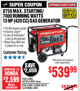Harbor Freight: Reliable Power: Check Out our Portable