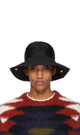 A-Cold-Wall* - Black Satin Bucket Hat