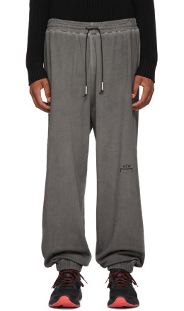 A-Cold-Wall* - Grey Cotton Lounge Pants