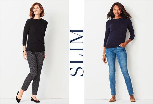 Shop Slim-Leg Pants