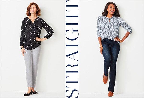 Shop Straight-Leg Pants