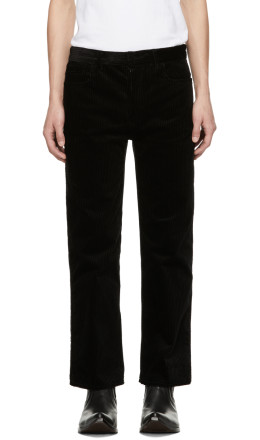Haider Ackermann - Black Conducer Trousers