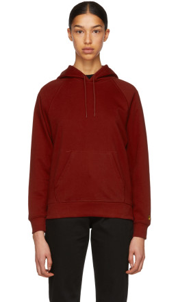 Carhartt Work In Progress - Red Chase Hoodie