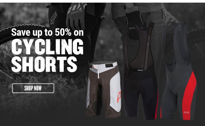 Save up to 50% on Cycling Shorts