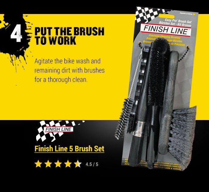 Finish Line 5 Brush Set