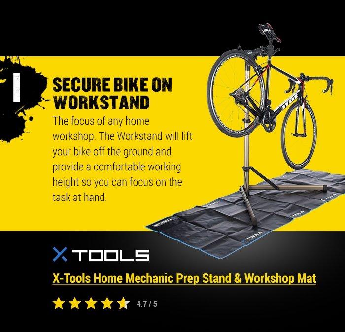 X-Tools Home Mechanic Prep Stand & Workshop Mat