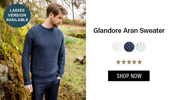 Glandore Aran Sweater